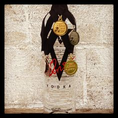 Medal winning V-One Vodka.