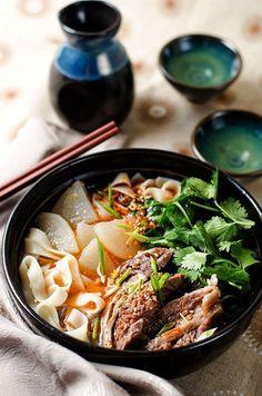 Lanzhou Beef Noodles   omnivorescookbook.com