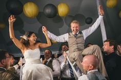 Dancing photos at Luke & Ariel's Wedding Wedding photos shot by Hitch and Sparrow Wedding Co.