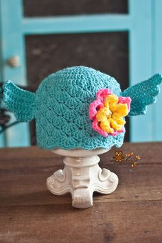 Crochet Monster Water Monster Hat Monster by LionandLambPhotos