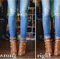 Como usar las botas con estilo.