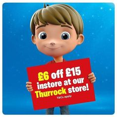 Head over to the #SmythsToys website and grab your 6 for 15 voucher for our Thurrock Store!  - http://ift.tt/2pmK3ry