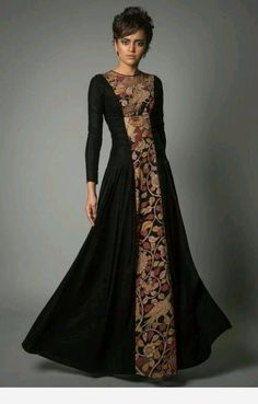 Trendy Ideas For Dress Simple Anarkali Indian Couture Asian Fashion, Look Fashion, Hijab Fashion, Fashion Dresses, Kurta Designs, Indian Dresses, Indian Outfits, Pakistani Dresses, Anarkali Dress