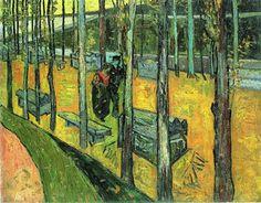 Alychamps, Autumn - Vincent van Gogh