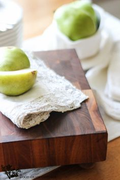 How To Clean & Restore An Old Cutting Board