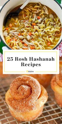 Rosh Hashanah Menu - 25 Recipes for a Memorable Rosh Hashanah Meal | Kitchn Kosher Recipes, Cooking Recipes, Healthy Recipes, Kosher Meals, Rosh Hashanah Menu, Rosh Hashanah Traditions, Rosh Hashana Recipe, Moroccan Desserts, Holiday Recipes
