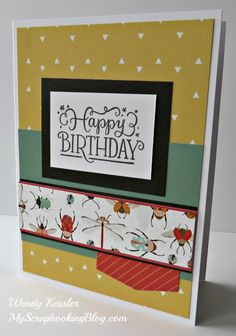 More Dreamin' Big Layouts & Cards | My Scrapbooking Blog
