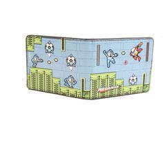 Megaman Game Screen Bifold Wallet
