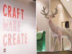 H and I have worshipped at the doors of Paperchase Tottenham Court Road for more than 15 years. Four floors of stationary, pens, paper and gifts who would not want to be a paper chaser? You can imagine our delight when an invite hit our inbox to head over to TCR and view their Spring/Summer 2015 line and have some Christmas crafting fun, we literally squealed.