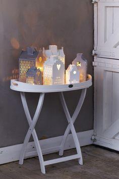 Wat een leuk idee,een stel huisjes bij elkaar,gezellig!