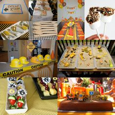 Fiesta Friday - Construction Party Inspiration Board | Not Just A Mommy!