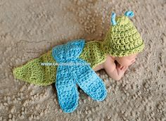 Ravelry: Dragonfly Cuddle Critter Cape Set pattern by Elisabeth Spivey