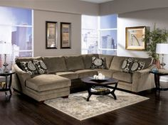 Marble Three Piece Sectional from the Aurora Collection (Taft) : taft furniture sectionals - Sectionals, Sofas & Couches
