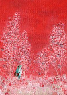 Entrevistamos a la ilustradora japonesa Satoe Tone, ganadora del premio internacional de ilustración en la pasada edición de la Feria de Bolonia. http://www.unperiodistaenelbolsillo.com/entrevistamos-a-la-ilustradora-satoe-tone-mis-ilustraciones-son-yo-misma-lo-que-mi-corazon-siente-es-lo-que-dibujo/
