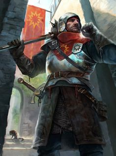 """creativerepositoryblog: """"quarkmaster: """" Guardsman Valeria Dryzhak """" Some inspirational art for gaming. Make sure to check out the artist's page. """""""