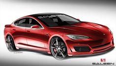 Tesla Model S von Saleen: US-Tuner zeigt erste Entwürfe seines kommenden E-Sportwagens - ecomento.tv