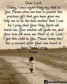 Letter to God about parenting...More at http://pray.christianpost.com