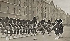 Argyll & Sutherland Highlanders, St James's Palace London, 1908