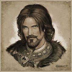 Артбук Tales of Old Rus' - рабочие материалы