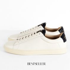 the latest 5443a e754f Leather Men, Off White, Sneaker, Ankle Boots, Sneakers, Athletic Shoes,
