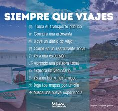 Cosas que todo viajero tiene que hacer una vez en la vida | México Desconocido
