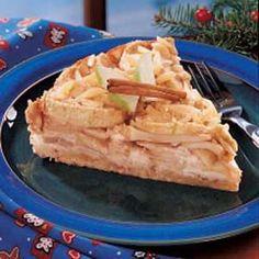 Apple Danish Cheesecake