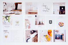 Project Life, simple modern memory keeping from— lily and twig