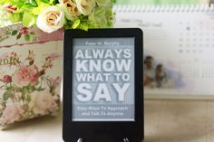 Always Know What to Say offers practical tips on how to approach new people. Find out if this book is worth your time by checking out my book review.  http://www.domesticgeekdiva.com/book-review-always-know-what-to-say/  #bookreview #selfhelp #personaldevelopment #kindle #selfimprovement