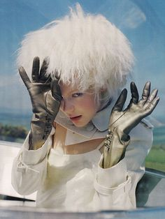 Kinga Rajzak by Tim Walker for Vogue UK