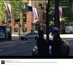 Hostages held in siege in Martin Place. Sydney, Police, Street View, Australia, Pictures, Photos, Law Enforcement, Australia Beach