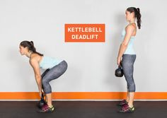 Drop the dumbbells. Here are 22 kettlebell exercises that'll give your whole body a killer workout. #fitness #kettlebell #exercises http://greatist.com/fitness/22-kick-ass-kettlebell-exercises