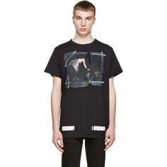 Off-White - Black Caravaggio Annunciation T-Shirt