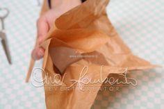 """Tutorial. Come realizzare un sacchetto stile """"ricicle"""" per il tuo matrimonio"""