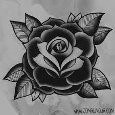 Image result for skull and roses old school
