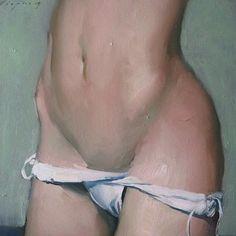 Malcolm Liepke, Woman's Hips, 2013