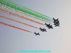 """Frecce tricolori sul """"Tito Minniti"""""""