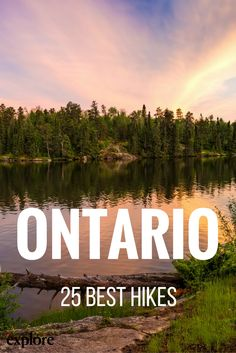 25 Best Hikes in Ontario Canada // Hiking Tips, Camping And Hiking, Backpacking, Hiking Spots, Canoe Camping, Backpack Camping, Camping Hammock, Hammocks, Camping Ideas