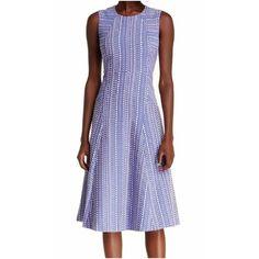 Anne Klein Chicory White Women's Sheath Dress
