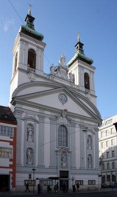 Rochuskirche, Vienna (Austria, 1718 - 1721) Visit Austria, Vienna Austria, Monuments, Viking River, Honeymoon Pictures, Neoclassical Architecture, Heart Of Europe, Old Churches, Church Building