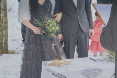 Ceremony at Czech Republic wedding as seen on @offbeatbride