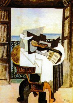Pablo Picasso, 1919 La table devant la fenêtre