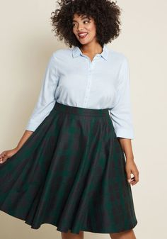 Collectif x MC Ever Lovely Intellect Midi Skirt Plus Size Fashion Dresses 4d952a344b31