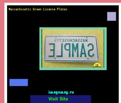 Massachusetts green license plates 145846 - The Best Image Search