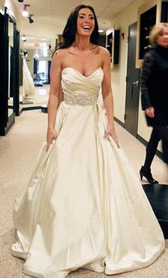 Lazaro 3018: buy this dress for a fraction of the salon price on PreOwnedWeddingDresses.com
