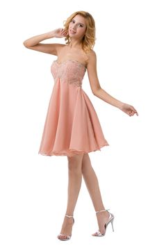 Buy Diyouth Hot Sale Empire Knee-Length Chiffon Cocktail Dresses CHCD-40116 Special Occasion Dresses under $168.99 only in Diyouth.