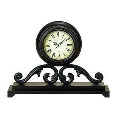 "Metal Mantel Clock 19"" 758647428045 | eBay"