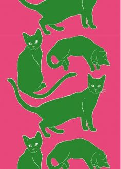 All the joys of having cats without the responsibility // Marimekko