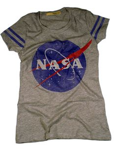 women's nasa t shirts, geeky tees Nasa Party, List Style, My Style, Material Girls, Vintage Shirts, Lounge Wear, Tee Shirts, Work Inspiration, Fashion Inspiration
