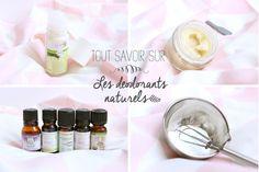 déodorants naturels et faire son déodorant soi-même