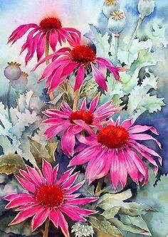 Beautiful watercolor - annmortimerart.com